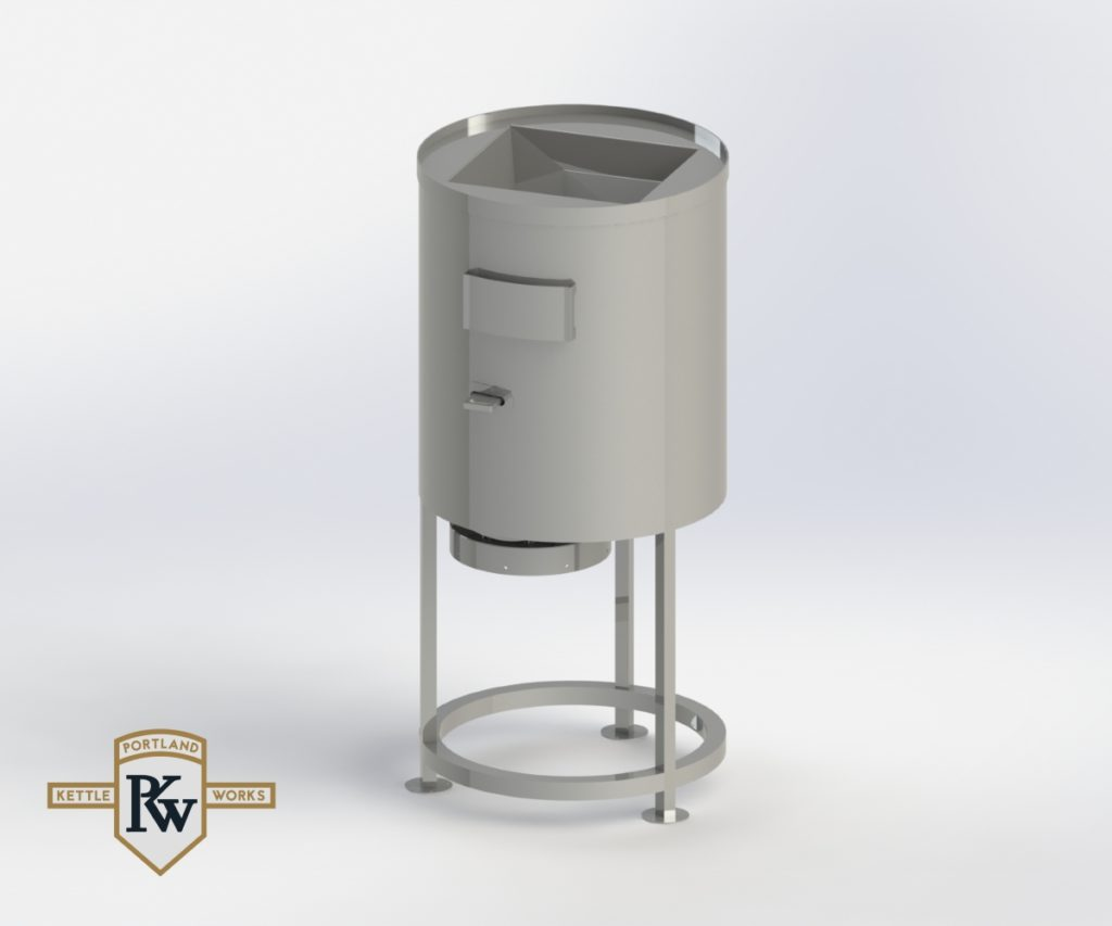 PKW Grain Mill 3D