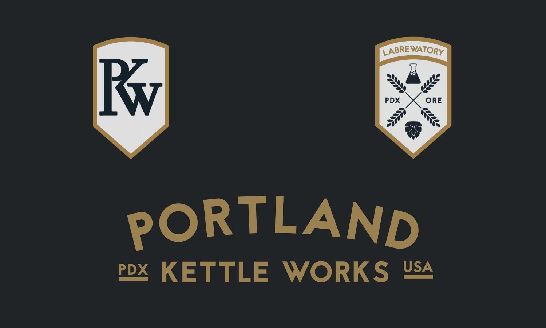 Portland Kettle Works, PKW, & Labrewatory Logos