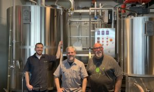 Steam Theory Brewing Team with PKW Brewhouse