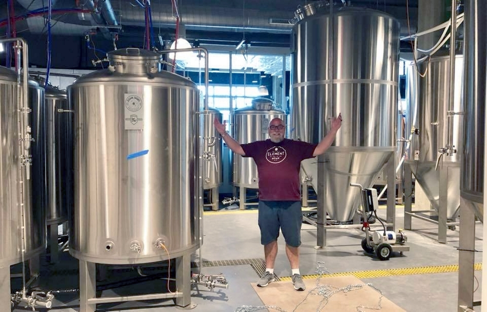 Steam Theory Brewmaster with PKW Brewing Equipment