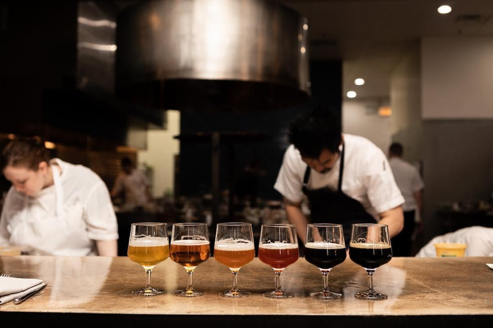 Band of Bohemia Kitchen Preparing for a Beer Pairing