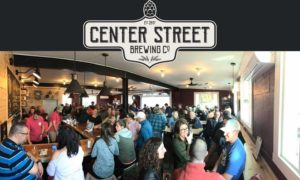 Center Street Grand Opening with Logo