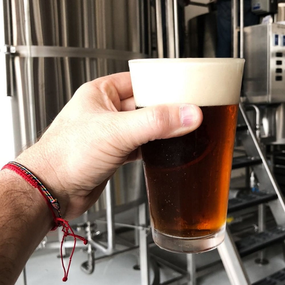 Tres Eles Beer Produced Using PKW Brewing Equipment