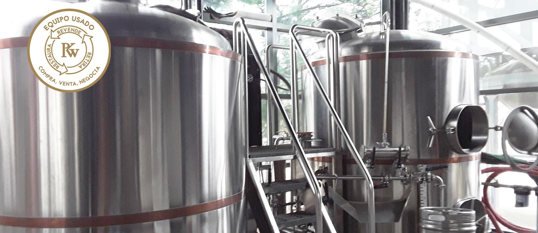 Equipo de Elaboración de Cerveza Usado