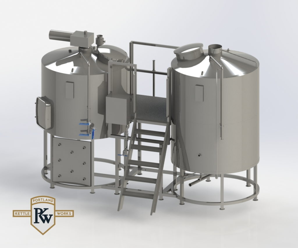 Hopmaster - Cerveceras de 3.5 a 10 barriles de Portland Kettle Works